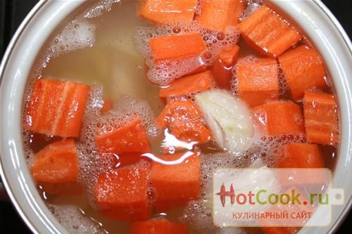 рецепт супа с фрикадельками из печени